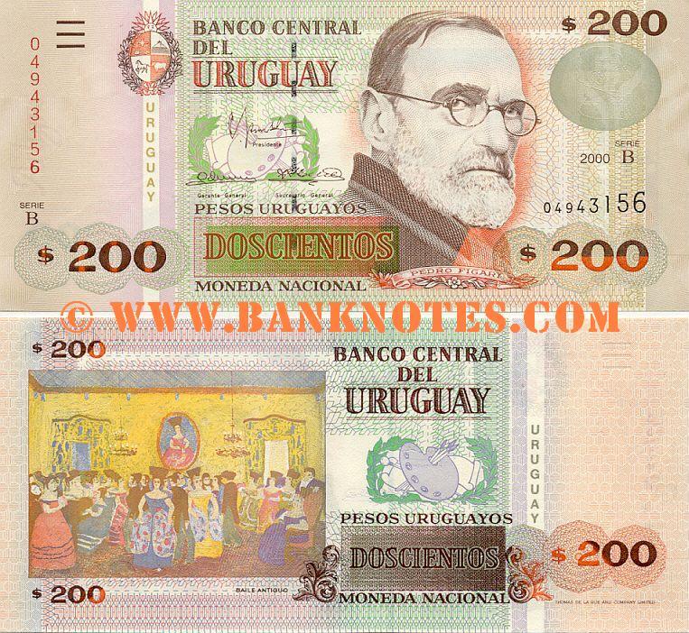 5 pesos uruguayos   Billetes del mundo, Papel moneda, Uruguay
