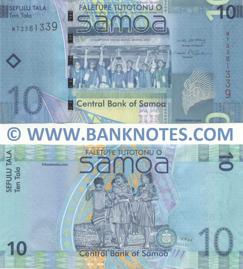 Samoan Currency Gallery