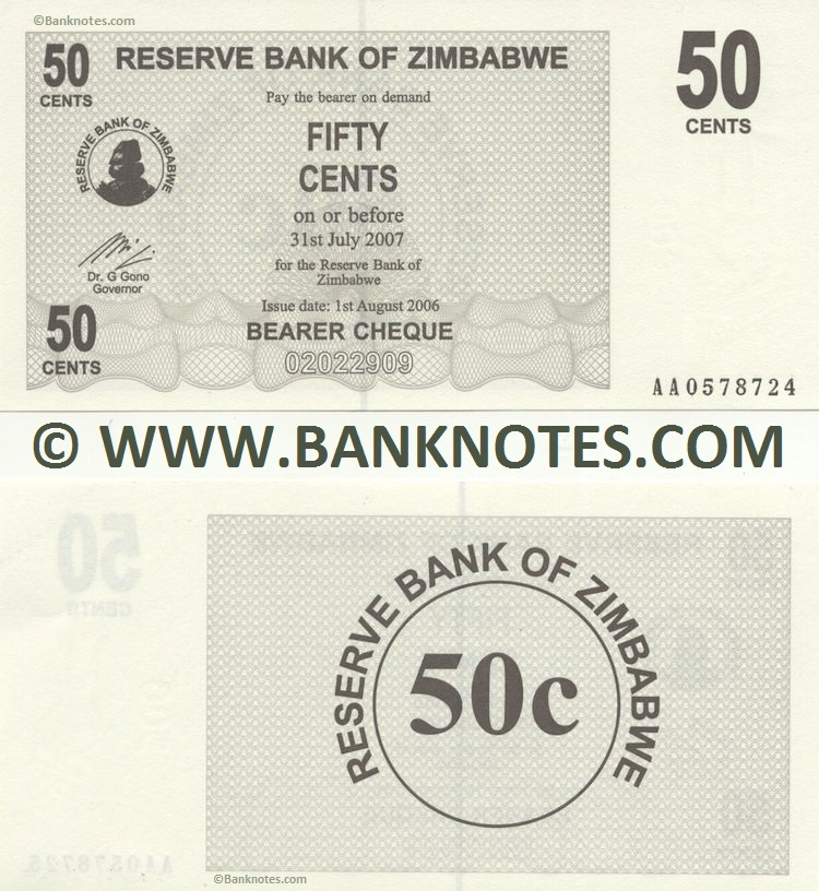 Zimbabwe Currency Gallery